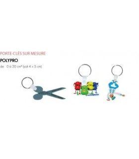 PORTE CLEFS CREATION POLYPRO | ref : K930N